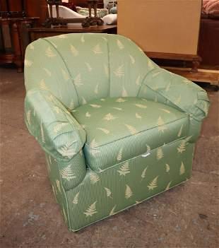 Ethan Allen swivel club chair