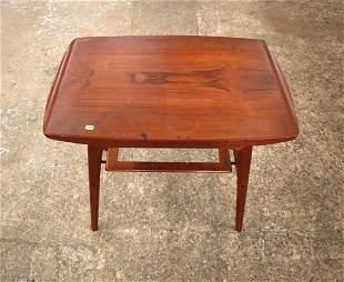 MCM Danish walnut table