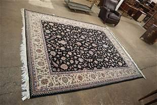 Nice room size blue mauve beige rug