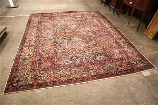Semi antique Lanamar Kirman rug