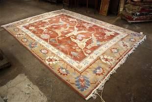 Hand knotted Tutenkian wool rug