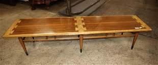 MCM Lane Danish walnut coffee table