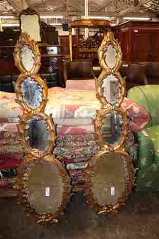 PR Maitland Smith gold guild mirrors