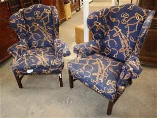 PR Ralph Lauren high back fireside chair