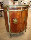 Beautiful marble top satin wood high chest
