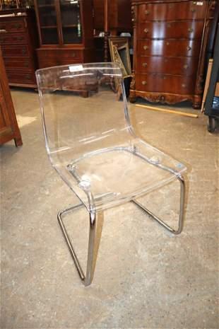 Modern design Carl Olerstam acrylic chair