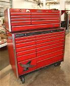 2pc Snap On 70th anniversary series tool box