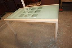 Ultra Modern Ligne Roset glass top table