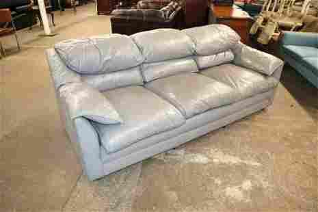 Hancock & Moore leather 3 cushion sofa
