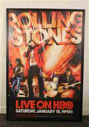 2003 Licks Tour of the Stones on HBO Poster
