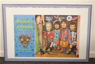 1994 Rolling Stones Halloween Poster