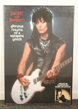 1984 Joan Jett and Blackhearts Poster