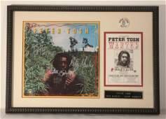 Autographed Peter Tosh Album