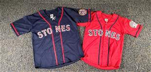 Two 2005 Rolling Stones Jersey Shirts
