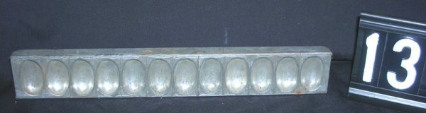 13: Hershey Chocolate Easter Egg Candy Mold c.1900-1935