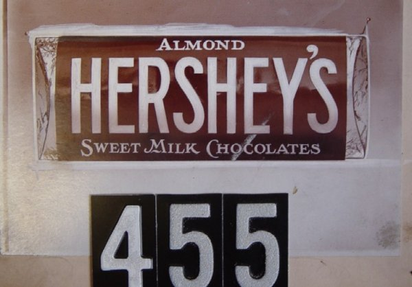 455: Original Artist Illustration - Hershey's Almond
