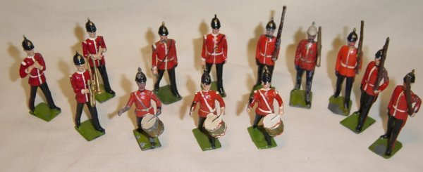 614: (13) Britains Band of the Line