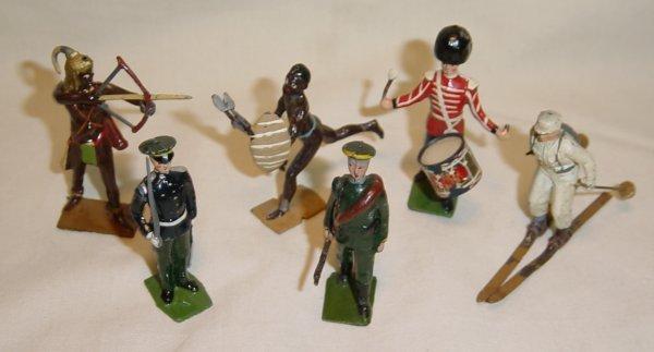 617:  (6) Pcs. Britains, Zulu, Togoland