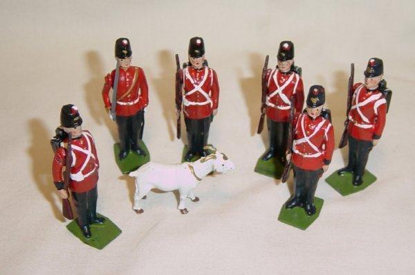 618: Britains Fort Henry Complete Set