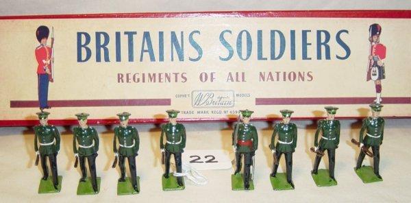 622: (8) Pcs. Britains Set #2088