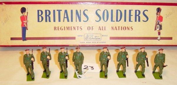 623: (8) Pcs. Britains Set #2010