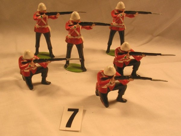 7: (6) Pcs. Imperial Productions British Zulu War