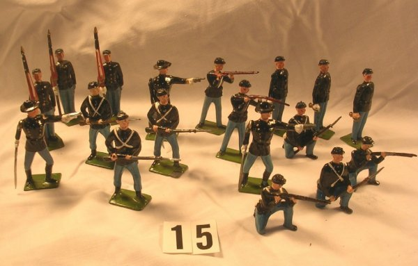15: Britains Union Infantry Misc. Poses