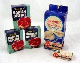 2: Vintage Nos Boxes Junket Dessert & Display