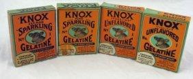 5: Vintage Nos Knox Gelatine - Book & Card