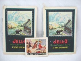 20: Vintage Jell-O Recipe Books - Yosemite