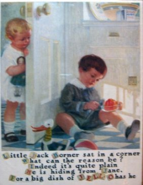 21: 3 Vintage Litho Jell-O Advertisements