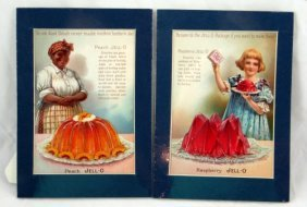 23: 4 1800's Jell-O Cookbook Advertisements