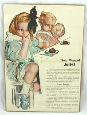 24: Vintage Rosie O'Neill Jell-O Advertisement