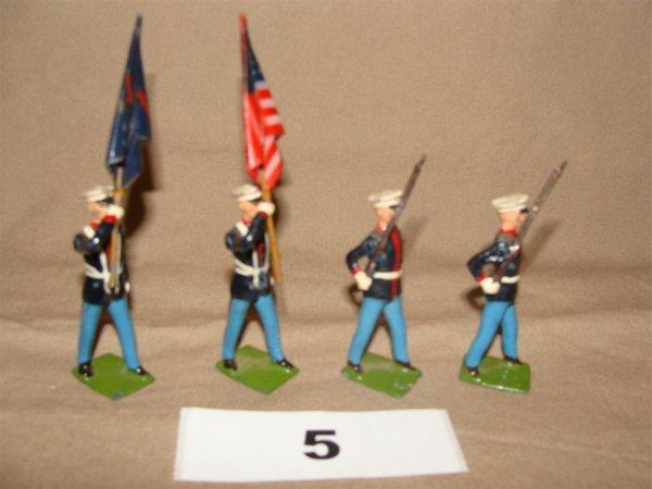 1005: Britains US Marine Color Party