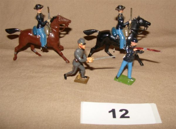 1012: Civil War Britains and Mignot Toy Soldiers