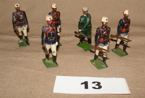 1013: Britains Sudanese Infantry, Greek Infantry