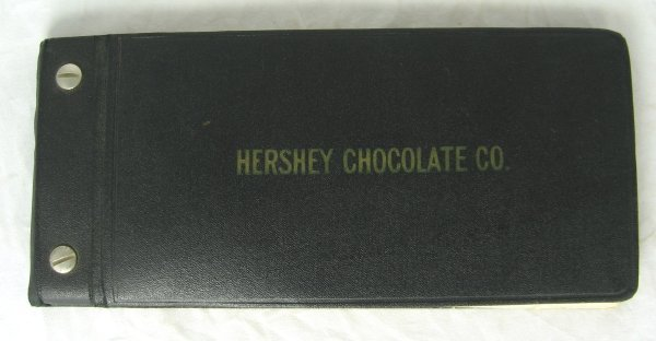 409: Rare 1920's Hershey's Product Sample Booklet