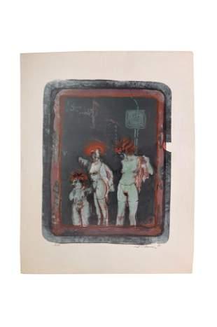 H. Tanner(?), artist of the 20th century. bottom left