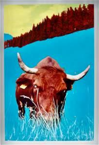 Stefan Waibel (1970), print on aluminum plate, 90,2 x