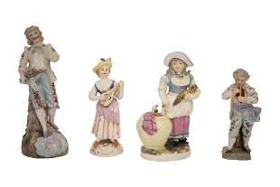 Convolute porcelain figures   Konvolut Porzellanfiguren