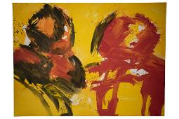 Josef Mikl* (1929 - 2008), Conversation - 2 Figures,