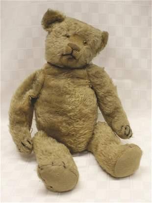 """Steiff Jointed Mohair Teddy Bear with Swivel Head 16"""" H"""