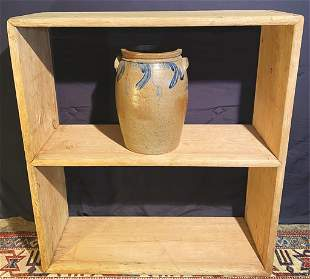 19th Century Softwood, Dovetailed Crock/Bucket Bench