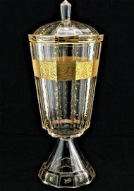 """Goblet vase """"Moser"""", Carlsbad"""