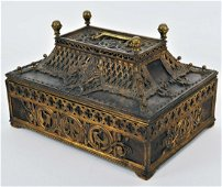 Large magnificent casket, 19th century, Vienna
