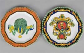 Pair of Versace Plates