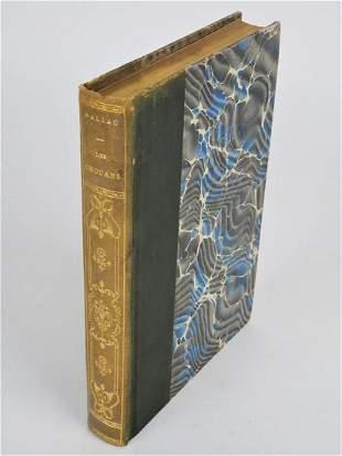 Honore de Balzac - Les Chouans, Paris 1907