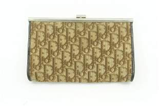 Christian Dior Trotter Brown Clutch