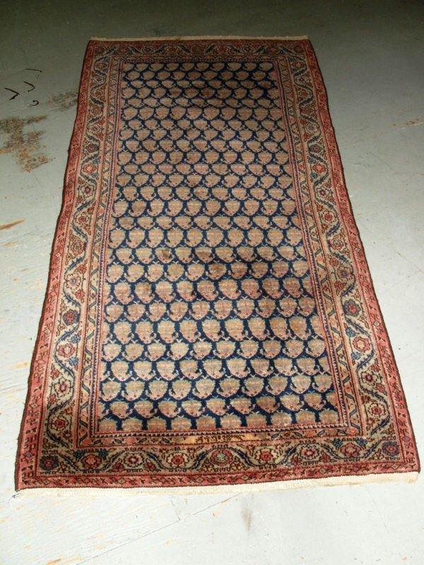 3: Textile: Signed Persian Wool Rug