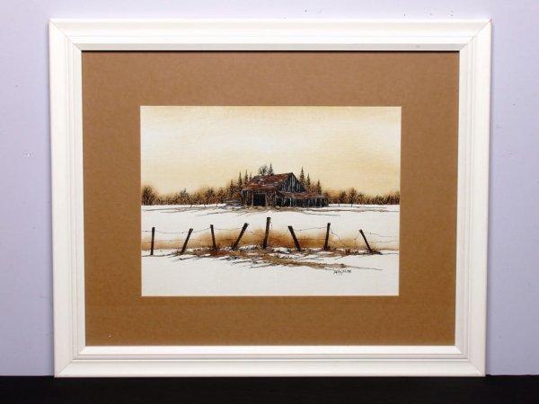 16: Canadian Art: Watercolour